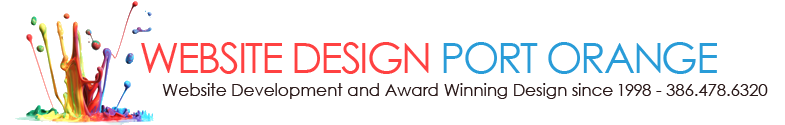 Volusia County\\\'s Award Winning Web Designers 386-871-5494